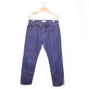 See By Chloe Cropped Straight Leg Jeans Sz 27